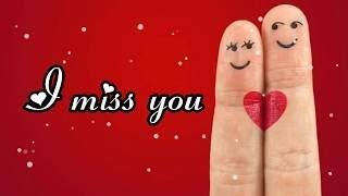 miss you baby WhatsApp status video || miss u status  || love u jaanu