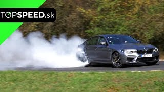 BMW M5 F90 test - Maroš ČABÁK TOPSPEED.sk