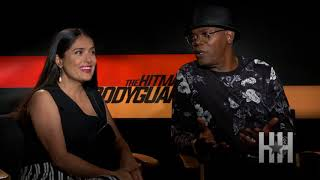Why Salma Hayek Loved Working With  Samuel L. Jackson in