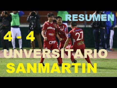Xxx Mp4 San Martin Vs Universitario 4 4 Resumen 2016 Liguilla B 3gp Sex