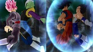 Fusion Vegetto Blue y Trunks Rage VS Fusion Zamasu Parte 2 Dragon Ball Tenkaichi 3 Mod Historia