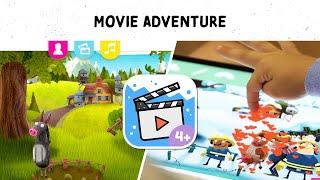 Fox & Sheep Movie Creator – Kids App Trailer
