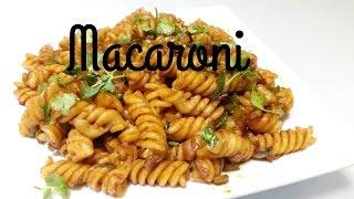 How To Make Macaroni Pasta || Indian Style Macaroni Recipe || Kid's Lunch Box || Mom's Tasty Food