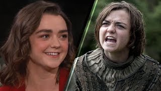 Maisie Williams Reveals She Knows EXACTLY How