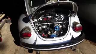 1978 VW Beetle 1600 Idle and rev.