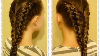 Diving Mermaid Braid Hairstyle Tutorial, Inspired By Flettemamma
