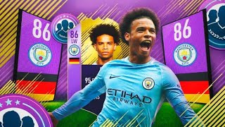 SANE PLAYER OF THE MONTH SQUAD BUILDER CHALLENGE!! | FIFA 18