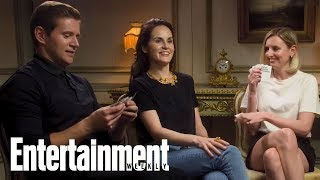 'Downton Abbey' Stars Michelle Dockery & More Play Cards Against Humanity   Entertainment Weekly