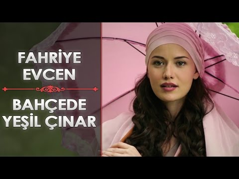 Fahriye Evcen Bahçede Yeşil Çınar A sycamore in the garden English Subtitle