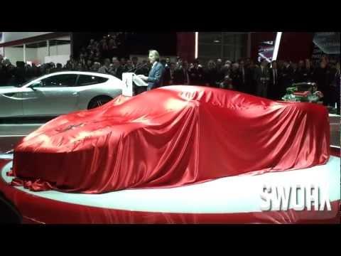 Ferrari LaFerrari presentation Geneva 2013