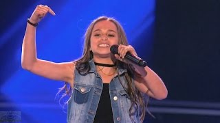 America's Got Talent 2016 Skylar Katz 11 Y.O. Rapper Full Judge Cuts Clip S11E09
