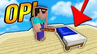 THE MOST OP ITEM EVER!..  ( Minecraft BED WARS )