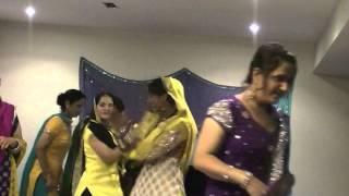 Jyoti sharma ladies sangeet boy wedding 2014