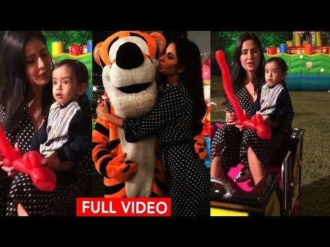 Xxx Mp4 Katrina Kaif FUNNY MOMENT With Salman S Nephew Ahil Rani Mukharjee Doughter S Birth Day Party 3gp Sex