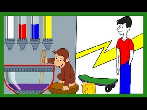 Curious George Mix and Paint Curious George Games PBS KIDS