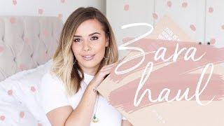 ZARA HAUL + TRY ON | Hello October
