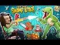 CROCODILE SWAMP!  Animals R Attakkin Meh! (FGTEEV Funny Gameplay/Skit) video download