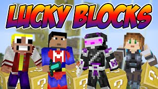 NACHO EL HACKERINO!!! | Lucky Blocks con LadyBoss, WhiteZunder y Magoangel | Elyas