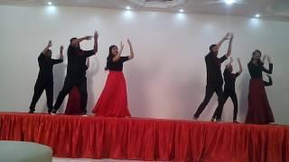 Marya pitashe ya ya maya ya goan dance...office party... Group dance