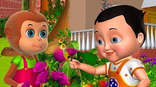 Johny Johny Yes Papa Learn Colors | Part 7 - 3D Nursery Rhymes & Songs For Kids