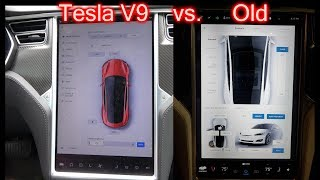 Tesla Version 9 Settings. New vs. Old.