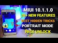 Redmi Note 4 miui 10.1.1.0 Stable update | 20 new features hidden tips and tricks | Portrait mode