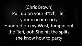 Chris Brown- Party Ft Gucci Mane, and Usher Lyrics