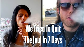 We Tried To Quit The Juul In 7 Days