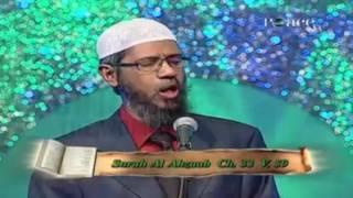 Dr. zakir Naik talking about women hijab