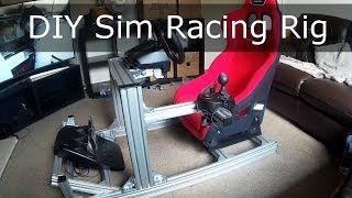 DIY Aluminum Sim Racing Rig Build
