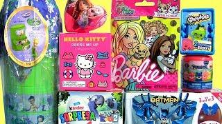 Ovos Princesa Disney Giant Egg Surpresa Boneca Barbie ToysBR
