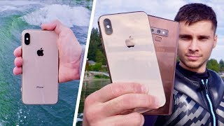 iPhone XS Water Test! Finally Waterproof!?