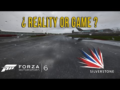 Reality Or Game? Silverstone Rain - Forza 6