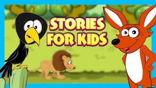 Stories For Kids - Clever Fox and Crow | Moral Stories For Kids - Kids Hut