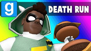 Gmod Death Run Funny Moments - Vanoss Superhero School Training! (Garry