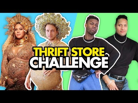 Download THRIFT STORE CELEBRITY CHALLENGE (Squad Vlogs) HD Mp4 3GP Video and MP3
