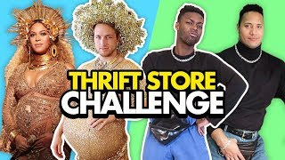 THRIFT STORE CELEBRITY CHALLENGE (Squad Vlogs)