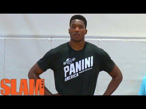 Damian Jones is a Golden State Warrior 2016 NBA Draft Workout - 16NBACLH