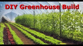 How To Build An Easy Inexpensive Greenhouse - DIY Step by Step Build
