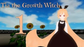 [MMD] Sizebox Giantess Growth - Tia the Growth Witch - Part 1