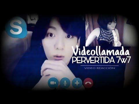 TUVE UNA VIDEOLLAMADA HOT CON JUNGKOOK 😳 Videoreacción a Imagina con BTS