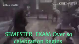 The End of ITI Exams