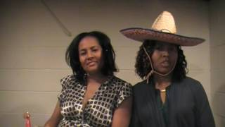 Tisha and Nikki Final Funny Foodie Video