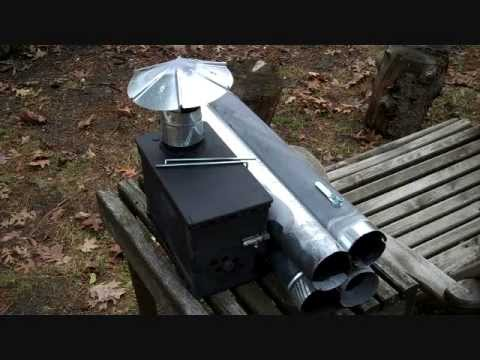 DIY AMMO CAN TENT STOVE PART 2