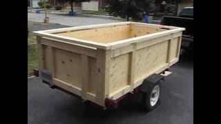 Utility trailer-build your own box trailer