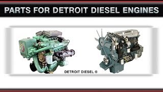 Detroit Diesel 8.2 Ltr Engine Parts