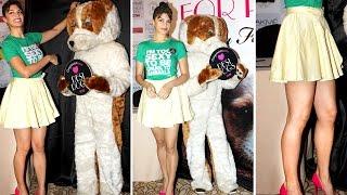 Jacqueline Fernandez Wears 'I'M TOO SE*Y' Top for PETA