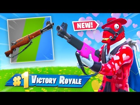 NEW Infantry Rifle In Fortnite Valentines Update