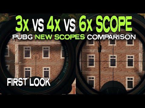 Xxx Mp4 PUBG 3x VS 4x VS 6x SCOPE PUBG New Scopes 3gp Sex