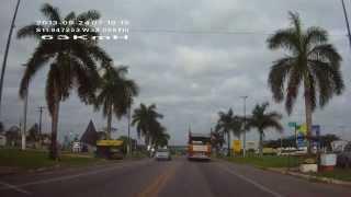 VIAGEM DE CARRO NORDESTE /SP( BR-101 CIDADE DE ENTRE RIOS-BA ) 7 PARTE!!